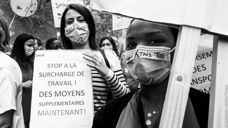 Grève du personnel du réseau IRIS de Bruxelles 3 Juin 2019 ©krasnyicollective / Jérôme Peraya